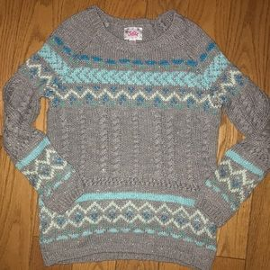 Justice soft knit sparkle sweater